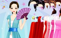 Gown Robe Dressup