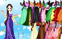 culture gown dressup