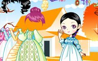 doll gown dressup 3